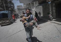 Esed rejimi ve destekçileri İdlibde geçen ay 231 sivili öldürdü