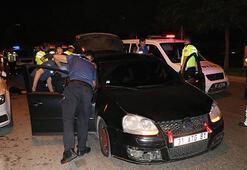 30 kilometre boyunca polisten kaçıp dehşet saçtı