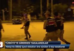 Türkiyeye girerken yakalandılar