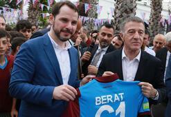 Trabzonspor camiası bayramlaştı