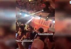 Mesut Özil ve Amine Gülşe kına gecesinde coştu