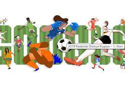 Googledan sürpriz doodle 2019 Kadınlar Dünya Kupası neden doodle oldu
