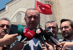Cumhurbaşkanı Erdoğandan net mesaj: Bu hakları ilgisi olmayanlara yedirtmeyiz