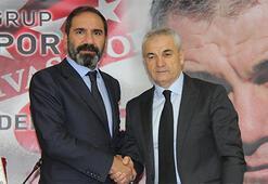 Demir Grup Sivassporda Rıza Çalımbay dönemi başladı