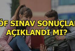 AÖF sınav sonuçları açıklandı mı AÖFten yaz okulu müjdesi