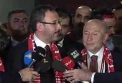 Spor Bakanı Kasapoğlu ve TFF Başkanı Özdemirin açıklamaları