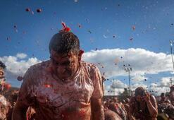 Kolombiyada domates savaşı