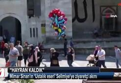 Mimar Sinan'ın 'Ustalık eseri' Selimiye'ye ziyaretçi akını