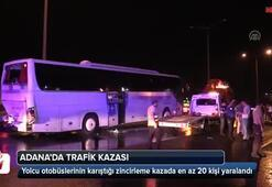 Adanada zincirleme kaza