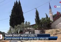 Cemaat kıbleyi 67 yıl sonra buldu
