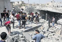 Idlib'e saldırılar sürüyor