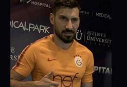 Şener, Galatasaray için sağlık kontrolünden geçti
