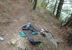 Kıyafetleri ağacın altında bulundu Her yerde aranıyor