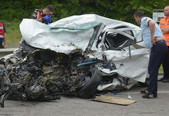 Son dakika... Korkunç kaza İki üniversite öğrencisi feci şekilde can verdi