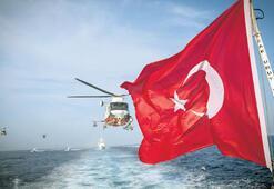 Doğu Akdeniz'de 'her zaman hazırız' mesajı