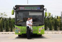 Belediye otobüsünde unutulan 5 yaşındaki çocuk ailesine teslim edildi