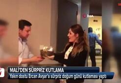 Mehmet Ali Erbilin hastane odasında sürpriz doğum günü kutlaması