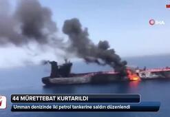 Umman denizinde iki petrol tankerine saldırı