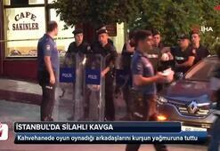 İstanbulda silahlı kavga