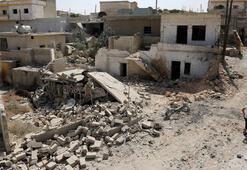 İdlibde yoğun saldırılar nedeniyle cuma namazı kılınamadı