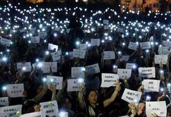 Çinden Hong Kongun askıya alma kararına destek