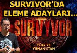 Survivorda dokunulmazlığı hangi takım kazandı Survivorda haftanın eleme adayları...