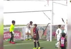 Marcelonun oğlundan enfes gol