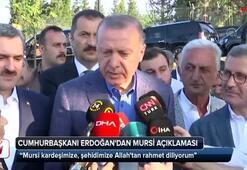 Cumhurbaşkanı Erdoğandan vefat eden Mursi için ilk açıklama