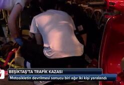 Beşiktaşta hareketli anlar Gören hemen yardıma koştu