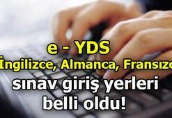 e-YDS İngilizce, Almanca, Fransızca sınav giriş yerleri belli oldu