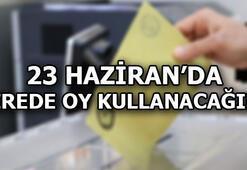 Nerede oy kullanacağım YSK seçmen sorgulama ekranı (23 Haziran İstanbul Seçimleri)