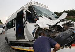 Muğlada feci kaza: 14 yaralı