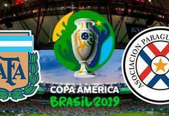 Arjantin Paraguay maçı ne zaman saat kaçta hangi kanalda Copa America 2019