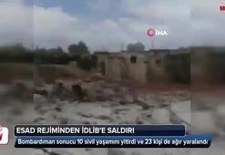 İdlibe yine saldırdılar Çok sayıda ölü ve yaralı var...