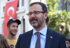 Bakan Kasapoğlundan Özkan Baltacıya tebrik