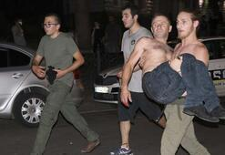 Tifliste parlamentoyu kuşatan protestoculara müdahale