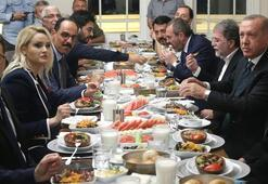 Cumhurbaşkanı Erdoğan Çengelköyde restoranda yemek yedi