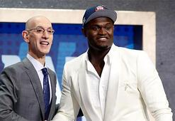 NBA Draftı'nda Pelicans, ilk sıradan Zion Williamson'ı seçti
