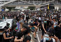 Hong Kongda tansiyon düşmüyor