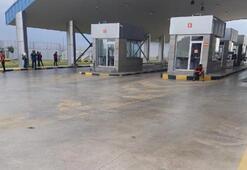Sınır kapısında hareketli dakikalar Şüpheli paket imha edildi