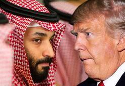 Trump ile veliaht Prensten kritik görüşme