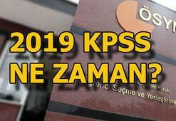 2019 KPSS tarihleri belli oldu KPSS sınav ve sonuç tarihleri ne zaman