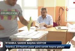İstanbul sandık başına gidiyor