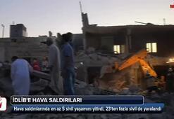 İdlibe hava saldırıları: 5 kişi hayatını kaybetti