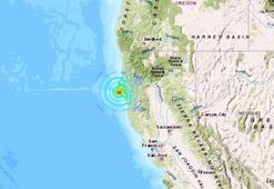 Son dakika... Californiada deprem