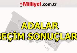 Adalar seçim sonuçları ve oy oranları | İstanbul Belediye Başkanlığı seçim sonuçları