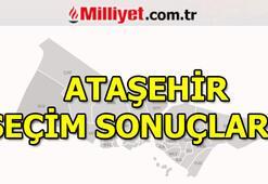 Ataşehir seçim sonuçları ve oy oranları 23 Haziran Ataşehir seçim sonuçları