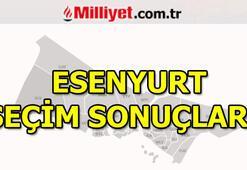 23 Haziran Esenyurt seçim sonuçları ve oy oranları (İstanbul Yerel Seçimleri)