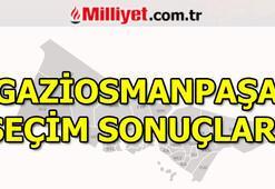 23 Haziran Gaziosmanpaşa seçim sonuçları ve oy oranları (İstanbul Yerel Seçimleri)