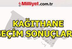 23 Haziran Kağıthane seçim sonuçları ve oy oranları (İstanbul Yerel Seçimleri)